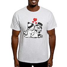 Warm Winter Love - T-Shirt