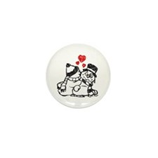 Warm Winter Love - Mini Button (10 pack)