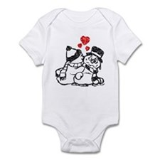 Warm Winter Love Infant Bodysuit