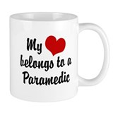 My Heart Belongs to a Paramedic Coffee Mug