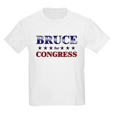 BRUCE for congress T-Shirt