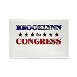 BROOKLYNN for congress Rectangle Magnet (10 pack)