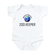 World's Greatest ZOO KEEPER Infant Bodysuit