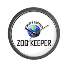 World's Greatest ZOO KEEPER Wall Clock