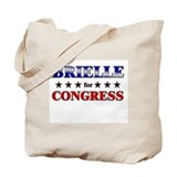 BRIELLE for congress Tote Bag