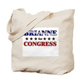 BRIANNE for congress Tote Bag