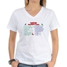 Westie Property Laws 2 Shirt