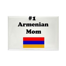 #1 Armenian Mom Rectangle Magnet
