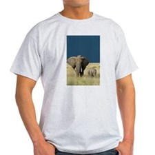 ELEPHANT MOTHER AND BABY T-Shirt