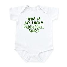 Lucky Paddleball Infant Bodysuit