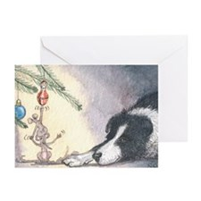 Peace on earth and goodwill t Greeting Cards (Pk o