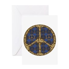 Peace Sign Peace on Earth Greeting Card