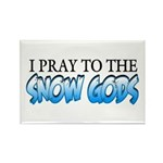 Snow Gods Rectangle Magnet