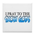 Snow Gods Tile Coaster