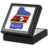 Cool Swaziland Keepsake Box