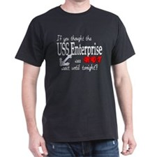 Navy USS Enterprise was hot T-Shirt