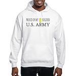 2LT - Proud of my soldier Hooded Sweatshirt