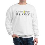 2LT - Proud of my soldier Sweatshirt