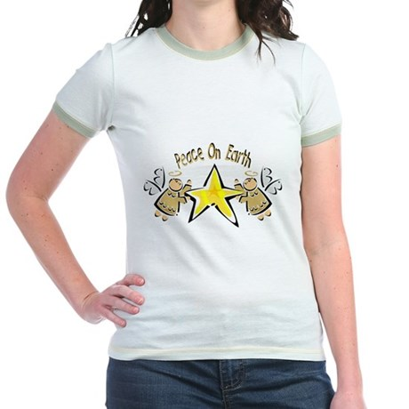 Peace Angels Jr. Ringer T-Shirt