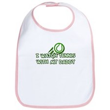 Tennis Daddy Bib