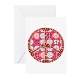 Pink - Peace on Earth Greeting Cards (Pk of 20)