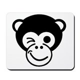 Monkey Dude Mouse Pad