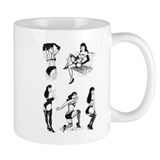 VintageSpot.com Bettie Page Small Mug