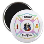 Future Firefighter Pastel Magnet