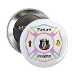 "Future Firefighter Pastel 2.25"" Button"