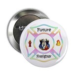 "Future Firefighter Pastel 2.25"" Button (10 pa"