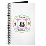 Future Firefighter Pastel Journal