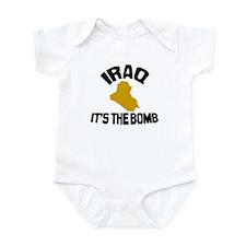 Iraq Is The Bomb Infant Bodysuit