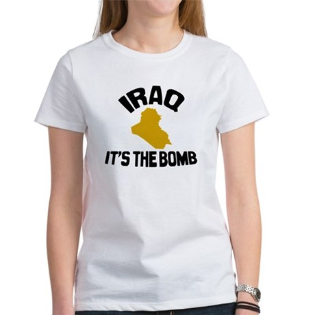 Iraq Is The Bomb Women's T-Shirt