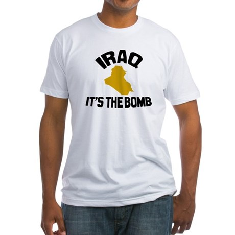 Iraq Is The Bomb Fitted T-Shirt