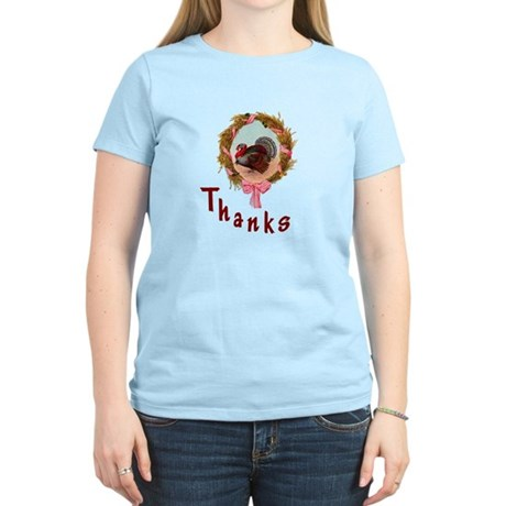 Thanks Turkey Women's Light T-Shirt