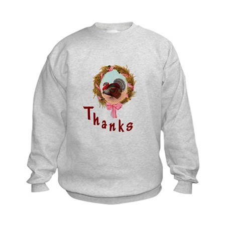 Thanks Turkey Kids Sweatshirt