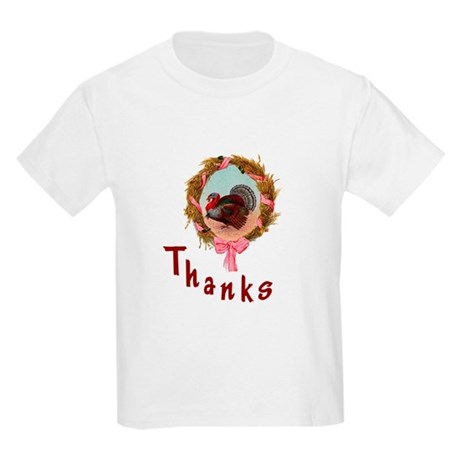 Thanks Turkey Kids Light T-Shirt