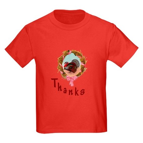Thanks Turkey Kids Dark T-Shirt