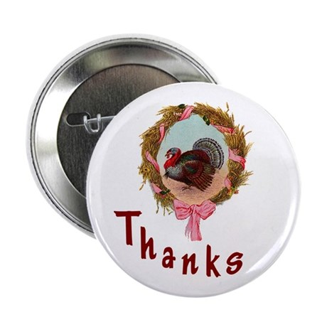 "Thanks Turkey 2.25"" Button"