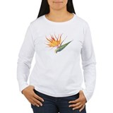 bird of paradise wm's long sleeve t-shirt