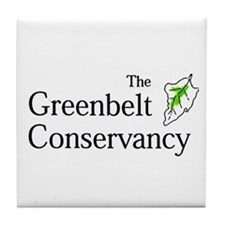 The Greenbelt Conservancy Tile Coaster