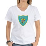 Seminole Nation Police Women's V-Neck T-Shirt