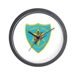 Seminole Nation Police Wall Clock