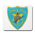 Seminole Nation Police Mousepad