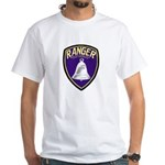 Riverside County Ranger White T-Shirt