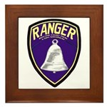 Riverside County Ranger Framed Tile