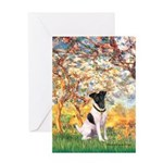 Spring / Fox T (1) Greeting Card
