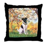Spring / Fox T (1) Throw Pillow