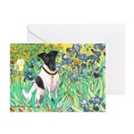 Irises / T (#1) Greeting Cards (Pk of 10)