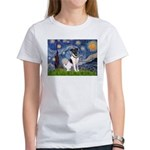 Starry / Fox Terrier (#1) Women's T-Shirt